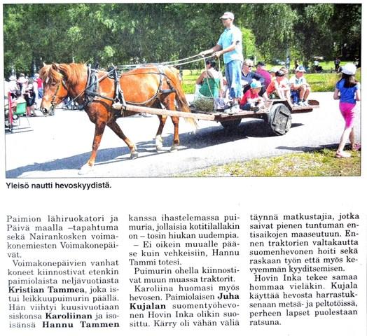 Salon Seudun Sanomat 14.7.2013